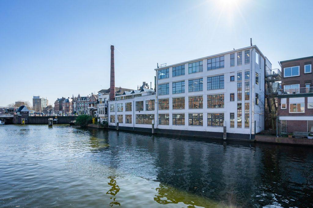 De Fabriek gezien vanaf de Aelbrechtskade Rotterdam