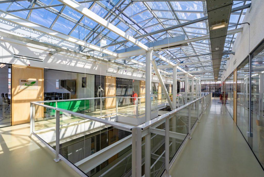 Glazen Plafond De Fabriek Van Delfshaven